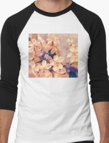 Cherry blossom Men's Baseball ¾ T-Shirt