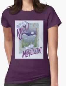 Bon Iver Lyric Art Womens Fitted T-Shirt