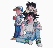 Goku Gohan Krillin Kids Clothes