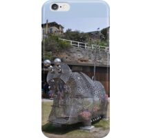 20151031 Sculptures By Sea - Big Pig Yawning  iPhone Case/Skin