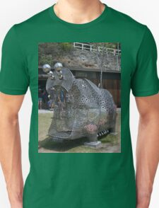20151031 Sculptures By Sea - Big Pig Yawning  T-Shirt