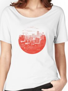 Japan Flag Women's Relaxed Fit T-Shirt