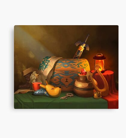 Zelda Still Life Canvas Print