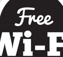Free Wifi Sticker