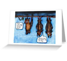 Right-side up?  Greeting Card