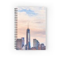 A Clouded World Trade Center Spiral Notebook