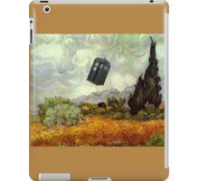 TARDIS In A Wheat Field iPad Case/Skin