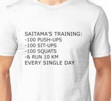 Saitama's Training Unisex T-Shirt