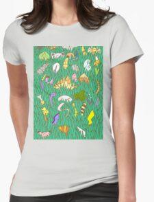 Stay Out of the Tall Grass - Gen 1  Womens Fitted T-Shirt