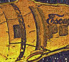 theLogBook.com Escape Pod (patchwork) Sticker