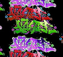 Wildstyle Graffiti by oppooghost