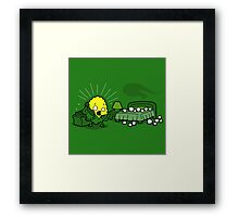 Spontaneous Corn Combustion Framed Print