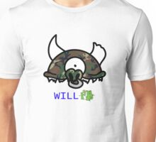 Camo Record Head Unisex T-Shirt
