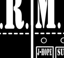 BTS Army Names Sticker