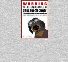 Warning: Sausage Security Unisex T-Shirt