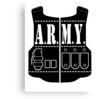 ARMY Canvas Print