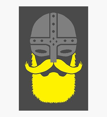 Bearded Viking Warrior Photographic Print