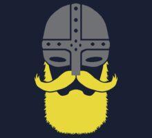 Bearded Viking Warrior Kids Tee
