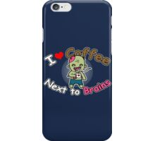 Coffee Zombie iPhone Case/Skin