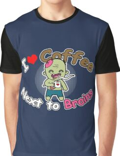 Coffee Zombie Graphic T-Shirt