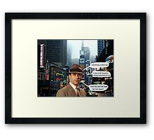In Memory of a Mad Man  Framed Print