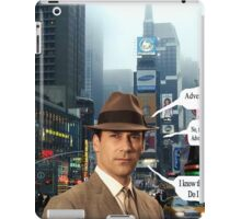 In Memory of a Mad Man  iPad Case/Skin