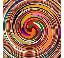 Abstract Colored Twist Art Background Photographic Print