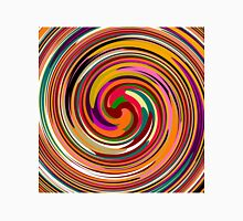 Abstract Colored Twist Art Background Unisex T-Shirt