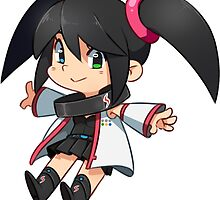 Sega Hard Girl - Saturn Sticker by SmaiART