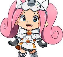 Sega Hard Girl - Dreamcast Sticker by SmaiART