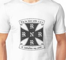 Rock and roll satisfies my soul Unisex T-Shirt