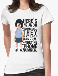 Tina Belcher Womens Fitted T-Shirt