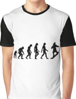 The Evolution of Snowboarding Graphic T-Shirt