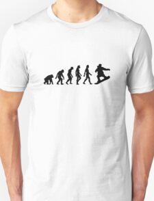 The Evolution of Snowboarding T-Shirt