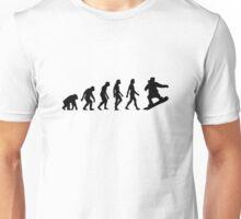The Evolution of Snowboarding Unisex T-Shirt