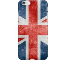 Faded British Flag iPhone Case/Skin