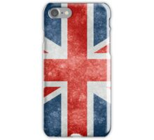 Faded British Flag iPhone Case/Skin