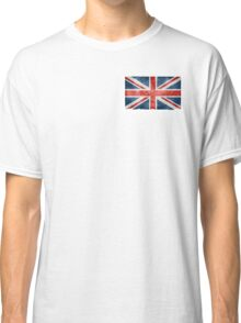 Faded British Flag Classic T-Shirt