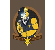Sheriff Fredbear Photographic Print