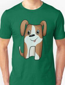 White-brown Puppy T-Shirt