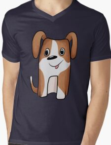 White-brown Puppy T-Shirt