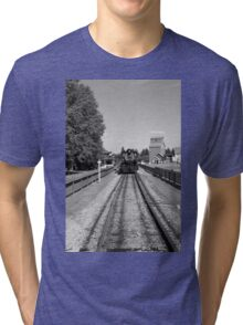 Steam engine Tri-blend T-Shirt