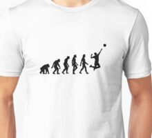 The Evolution of Volleyball Unisex T-Shirt