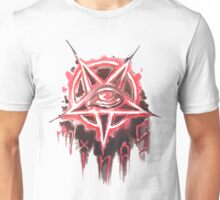 Pentagram star logo Unisex T-Shirt