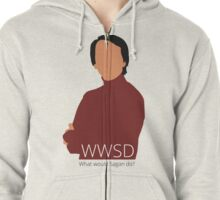 What Would Sagan Do? Zipped Hoodie