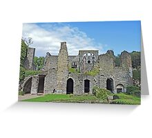 Ruins of the Abbeye de Villers Greeting Card