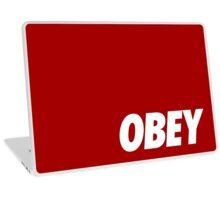 OBEY - White Laptop Skin