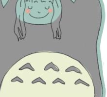 Totoro Love Sticker