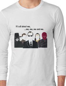 Movies - me, me, me, me and me Long Sleeve T-Shirt