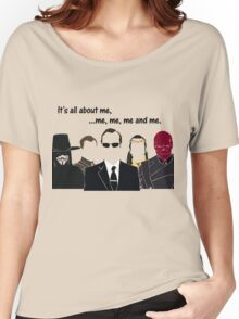 Movies - me, me, me, me and me Women's Relaxed Fit T-Shirt